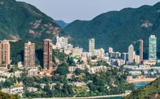 خلیج ریپالس شهر هنگ کنگ چین