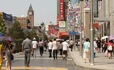 خیابان وانگ فوجینگ در پکن