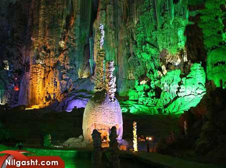 غارهای ژیجین جاذبه گردشگری چین