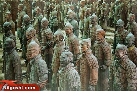 ارتش تراکوتا جاذبه گردشگری چین