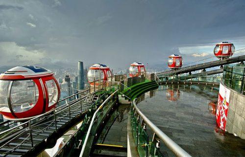 برج کانتون در گوانجو چین، دومین برج بلند جهان