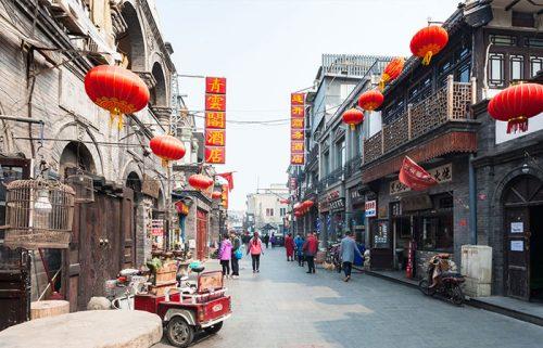 خیابان های هوتونگ در شهر پکن