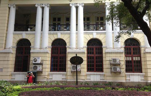 ساختمان های غربی جزیره شامیان در گوانجو چین