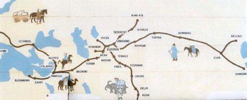 نقشه راه ابریشم