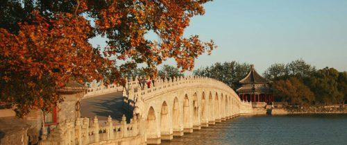 محوطه اطراف کاخ تابستانی پکن