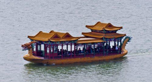 قایق سواری در کاخ تابستانی پکن