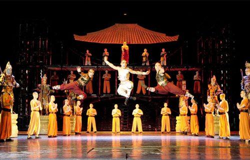 نمایش افسانه کونگ فو چین در شهر پکن