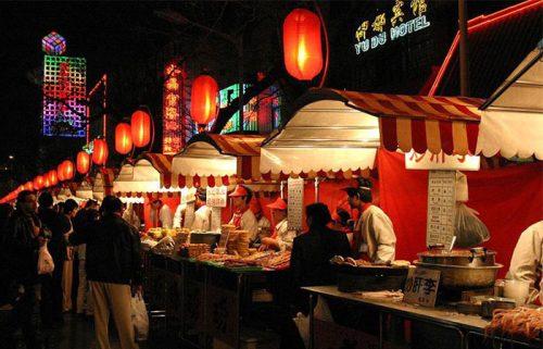 غذاهای خیابان وانگ فوجینگ در پکن