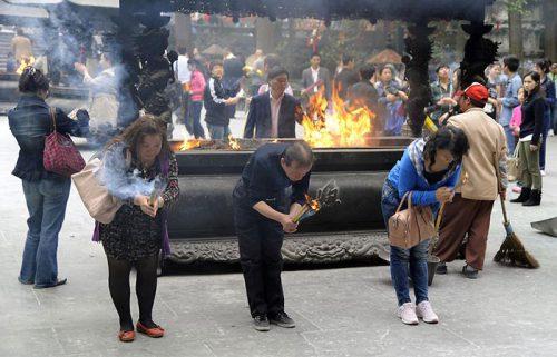 معبد لینگین هانگژو چین