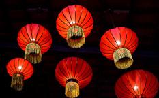 فانوس چینی ، اولین لامپ های آسیایی