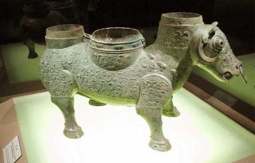 آثار هنری در موزه شانگهای چین