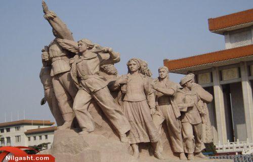 مجسمه های میدان تیان آنمن