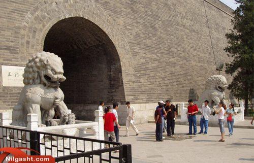دروازه ورودی میدان تیان آنمن