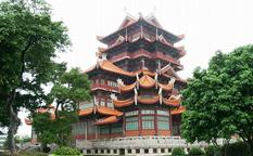 معبد پوتو جنوبی در شیامن و چشیدن طعم غذای گیاهی چینی