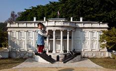 پارک پنجره جهان در شنزن چین، دور دنیا در یک روز