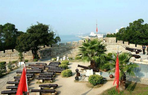 محوطه قلعه هولیشان شیامن