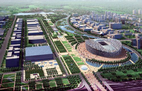 محوطه پارک المپیک پکن