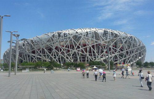 ورزشگاه لانه پرنده در پارک المپیک پکن