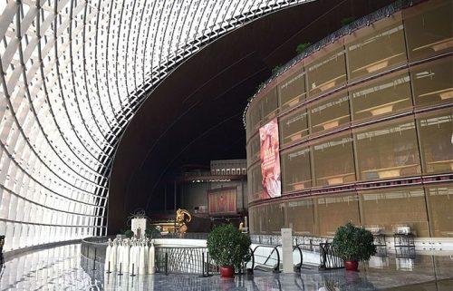 معماری مرکز ملی هنرهای نمایشی چین