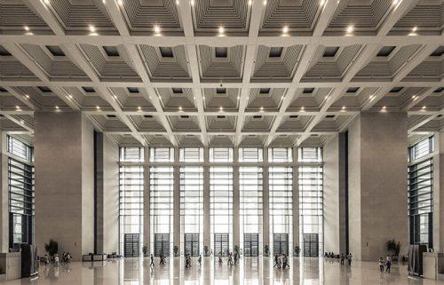 فضای داخلی موزه ملی چین در پکن