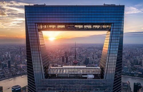 مرکز مالی جهانی شانگهای دهمین برج بلند دنیا