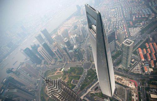 مرکز مالی جهانی شانگهای پنجمین برج بلند چین