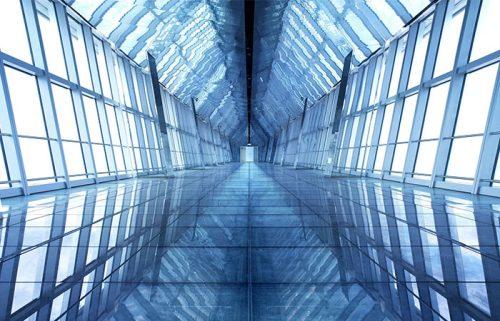 فضای داخلی مرکز مالی جهانی شانگهای