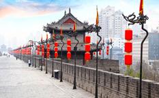 دیواری جذاب در دل شهر شیان